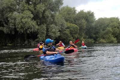 Canoeing-with Edmonton Canoe Group